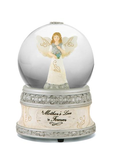 A Mother's Love Is Forever Musical Water Globe