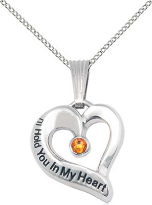 I'll Hold You In My Heart - November Birthstone