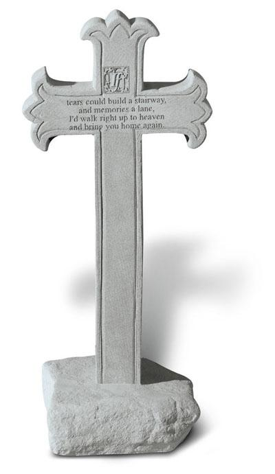 """If Tears Could Build A Stairway"" Memorial Cross"