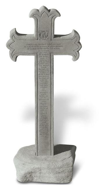 23rd Psalm Memorial Cross