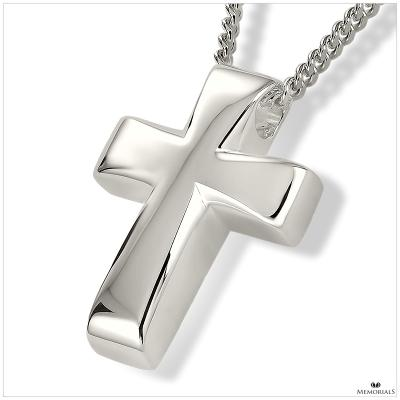 Cross Pendant Locket for Ashes