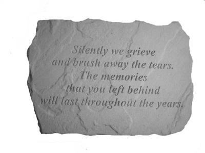 """Memories You Left Behind"" Memorial Stone"