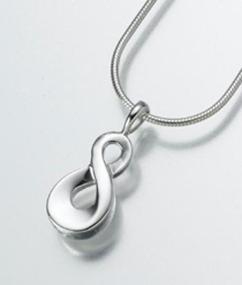 Infinity Cremation Urn Pendant