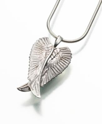 Angel Wings Cremation Pendant