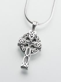 Celtic Cross Cremation Pendant