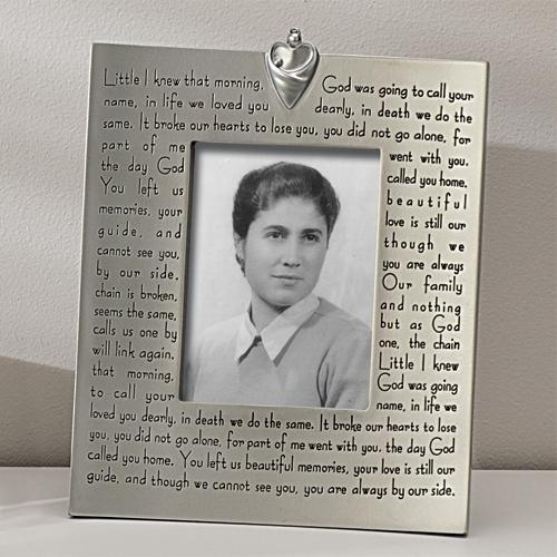 Remembrance Store > Memorial Picture Frames > Memory Frame - ...