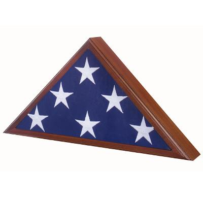 Veteran Flag Case Walnut