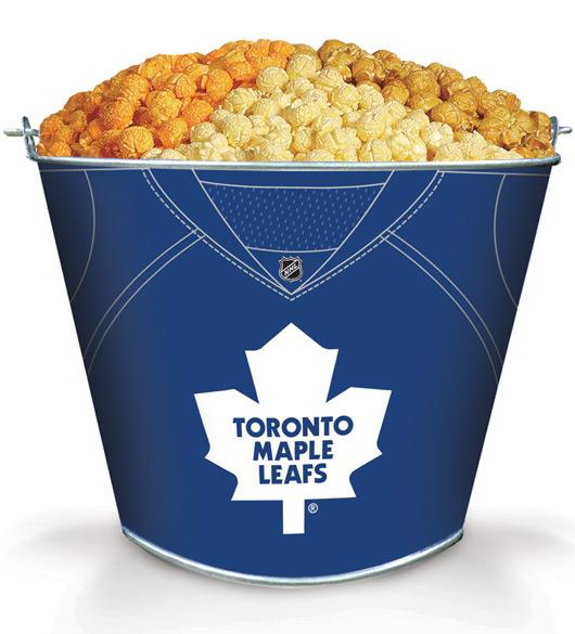 Toronto Maples Popcorn Tin 2.5 Gallon