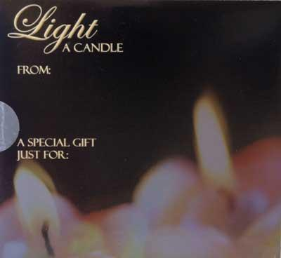 Light A Candle CD
