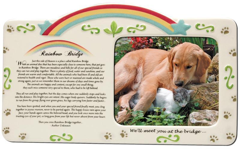 Rainbow Bridge Photo Frame