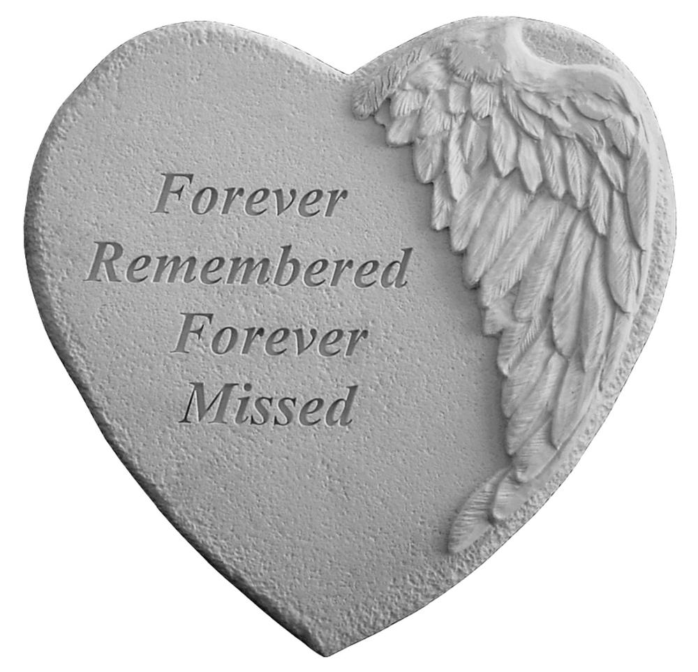 Forever Remembered Memorial Stone
