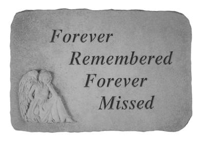 Forever Remembered Stone