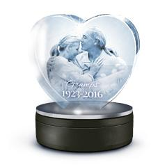 Medium 3D Love Crystal Tributes