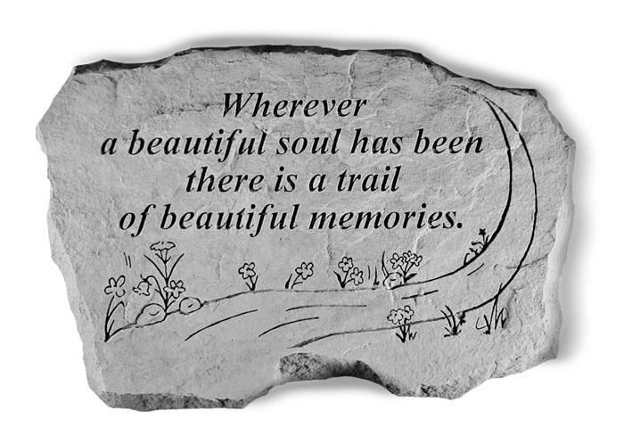 Beautiful Soul Garden Stone