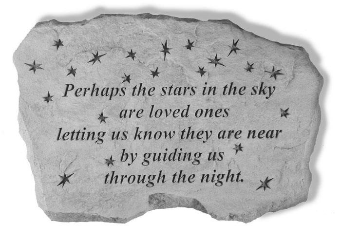 Perhaps The Stars - Garden Stone