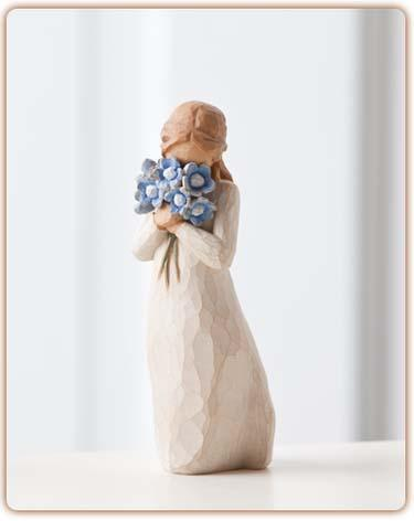 Forget Me Not Figurine