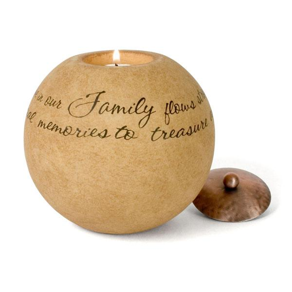 Family Memorial Candle